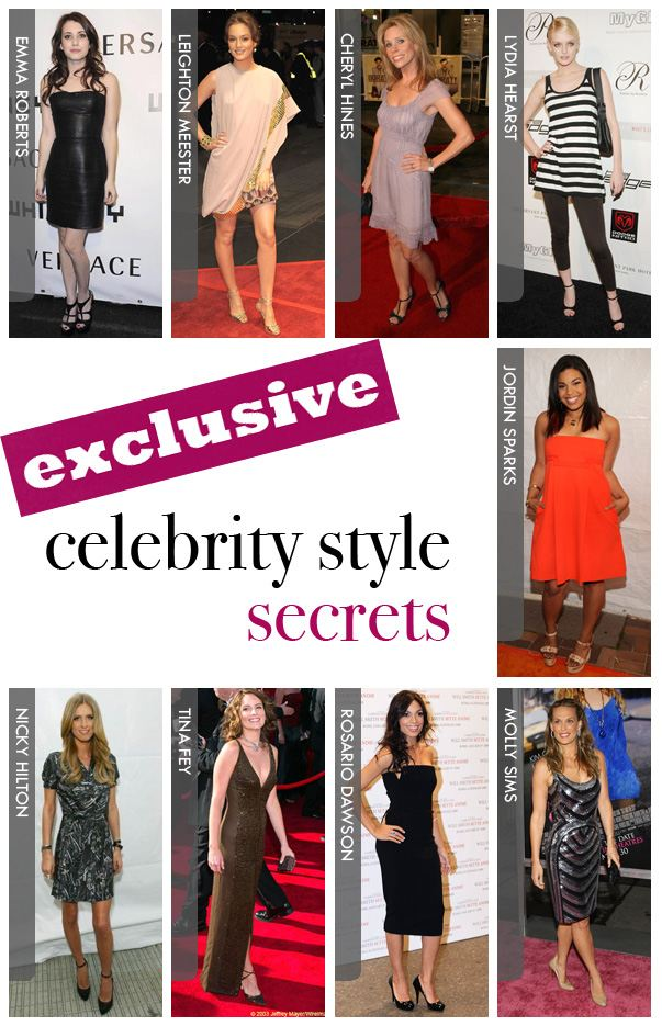 Celebrity Style Secrets- Exclusive! post image