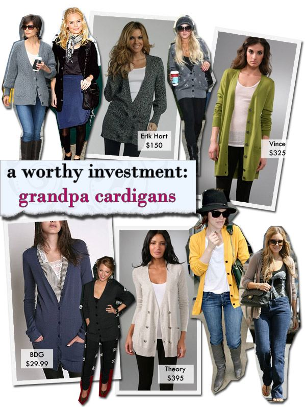 A Worthy Investment: Grandpa Cardigans post image