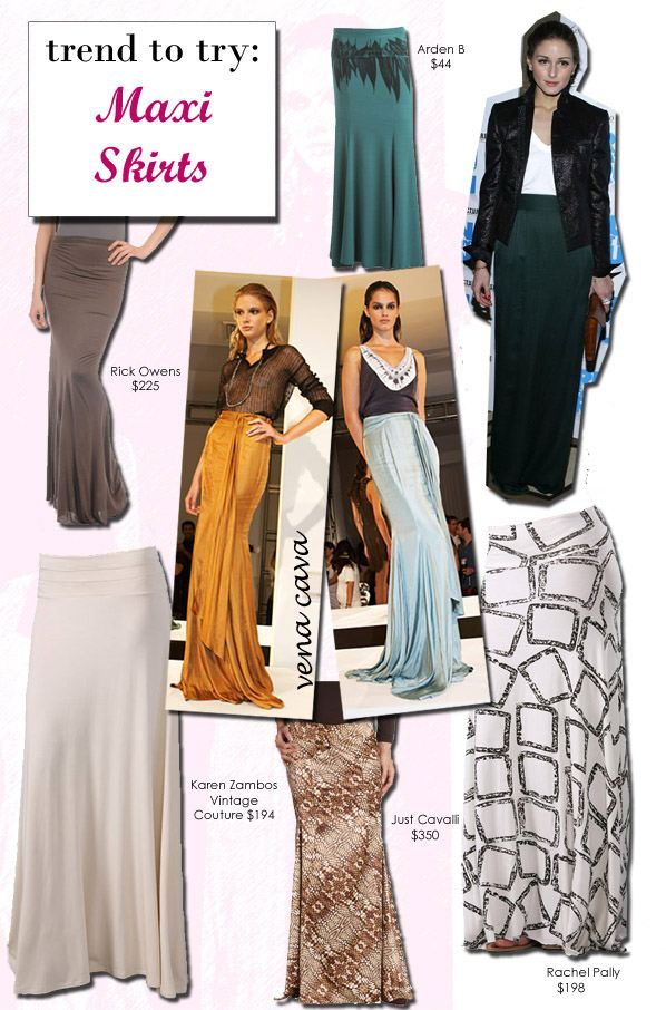 Trend to Try: Maxi Skirts post image