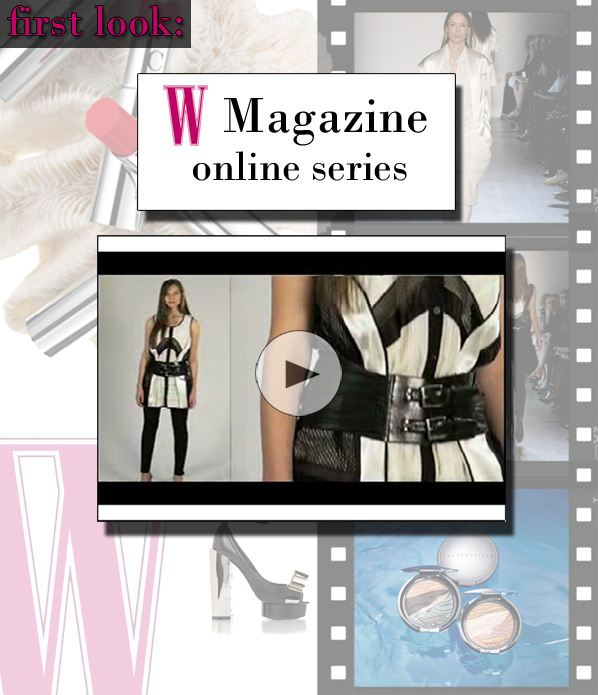First Look: W Magazine's W Salon Video Series post image
