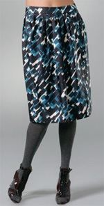 body-thakoon, Thakoon, skirt, printed skirt, sale, fashion, designer discount