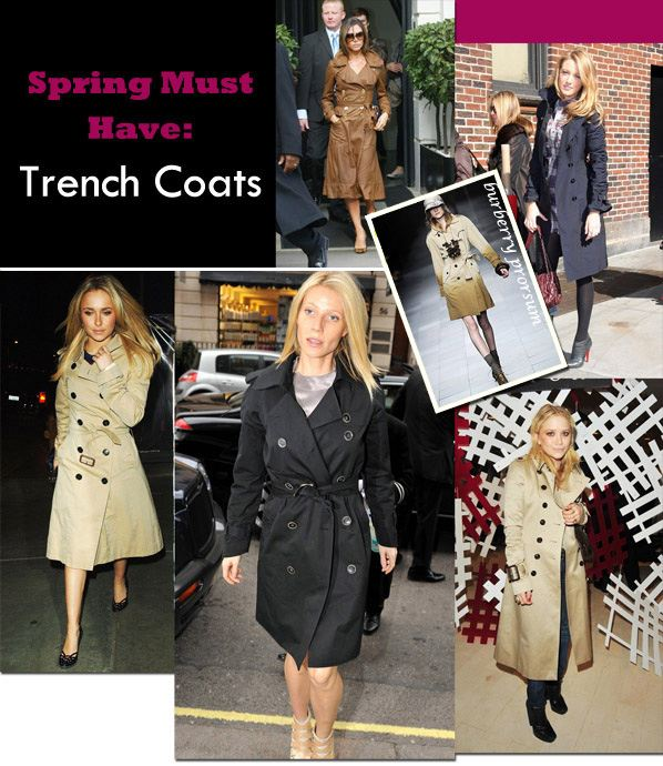 Spring Must Have: Trench Coats post image