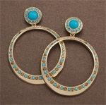 body-carolee, carolee, earrings, hoop earrings, jewelry, accessories, statement earrings