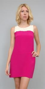 zambos, karen zambos, dress, pink dress, fashion, style
