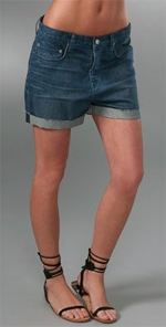 Helmut, helmut lang, fashion, style, shorts, jean shorts, denim shorts