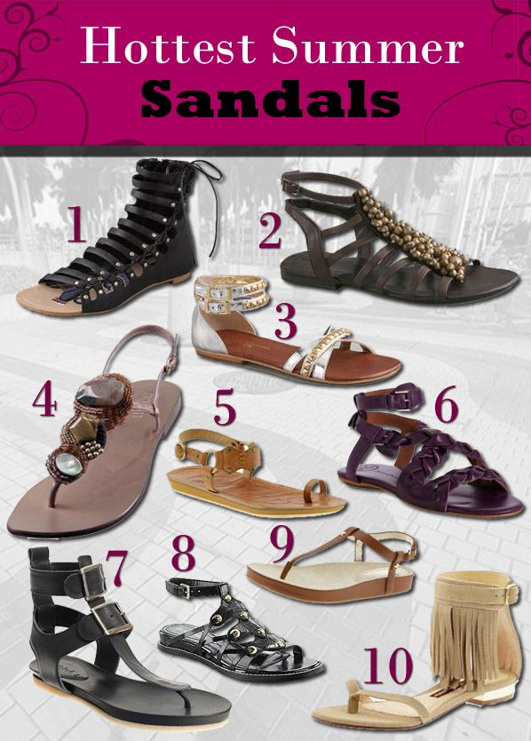 Hottest Summer Sandals post image