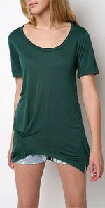 urban, urban renewal, top, tunic, green tunic, top, fashion
