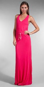 youngfab, young fabulous & broke, dress, maxi dress, pink maxi dress, fashion, style