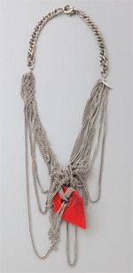 body- dannijo, dannijo, necklace, multi chain necklace, jewelry