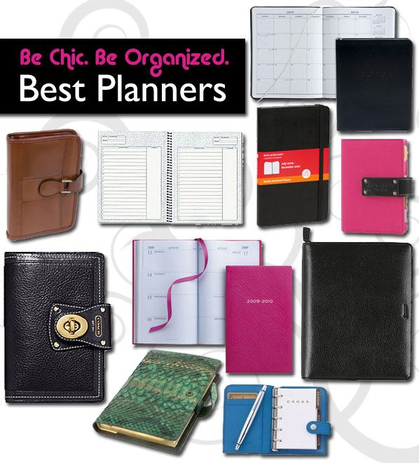 Be Chic, Be Organized: Best Planners post image
