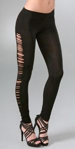 leyendecker, leggings, fashion, style, ripped leggings