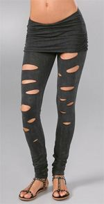 nightcap, nightcap clothing, leggings, fashion, style, ripped leggings