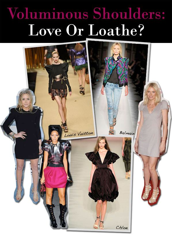 Voluminous Shoulders: Love Or Loathe? post image