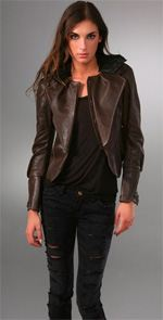 Hanii jacket, Hanii Y, jacket, leather jacket