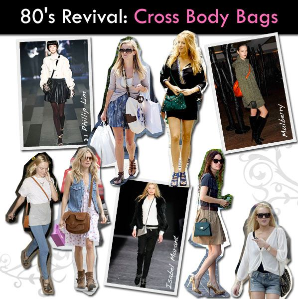 80's Revival: Cross Body Bags post image