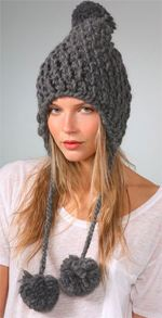 eugenia kim, hat, earflap cap, knit hat