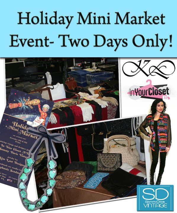 Holiday Mini Market Event- Two Days Only! post image