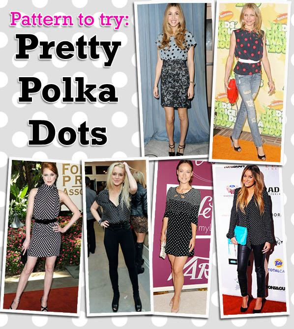 Pattern to Try: Pretty Polka Dots post image
