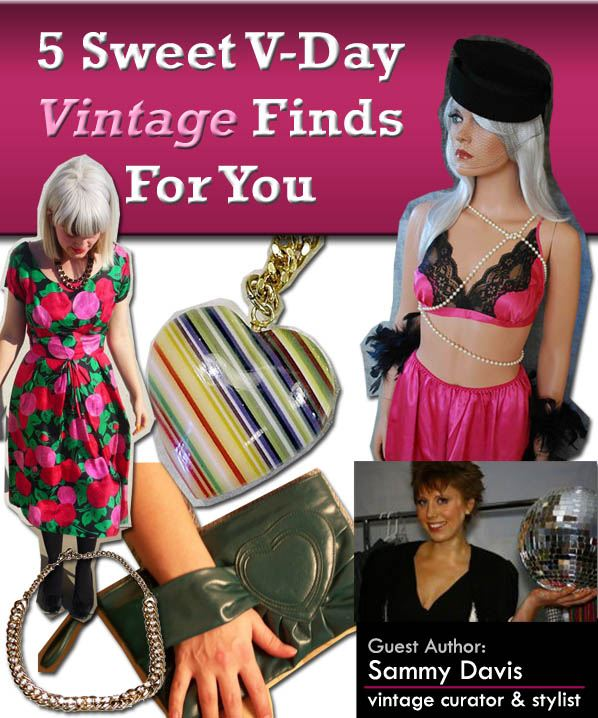 5 Sweet V-Day Vintage Finds For You post image