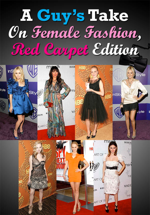 A Guy's Take On Female Fashion, Red Carpet Edition post image
