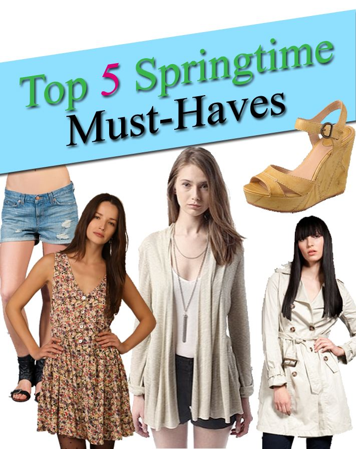 Top 5 Springtime Must-Haves post image