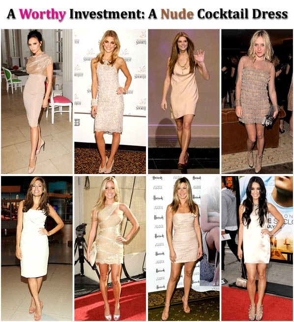 A Worthy Investment: A Nude Cocktail Dress post image