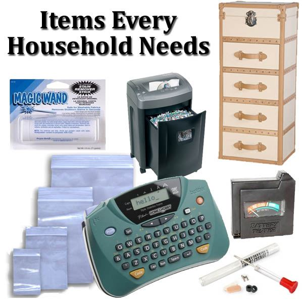 Items Every Household Needs post image