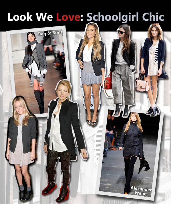 Look We Love: Schoolgirl-Chic post image