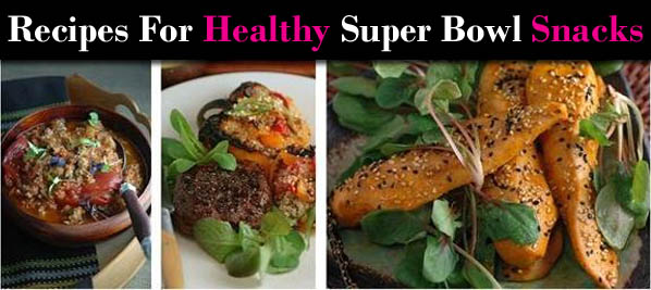 Recipes for Healthy Super Bowl Snacks from David Kirsch post image