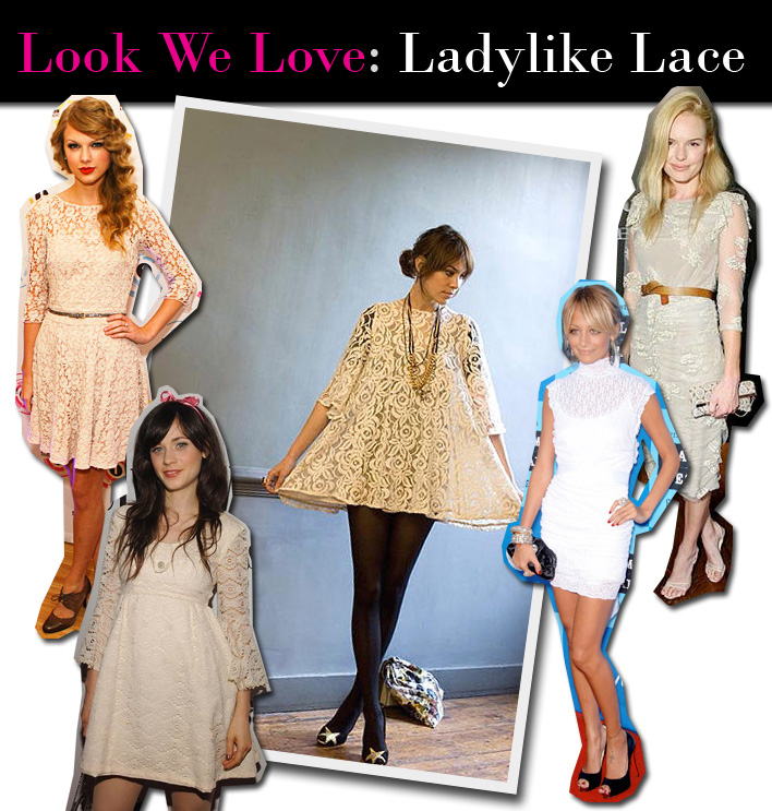 Look We Love: Ladylike Lace post image