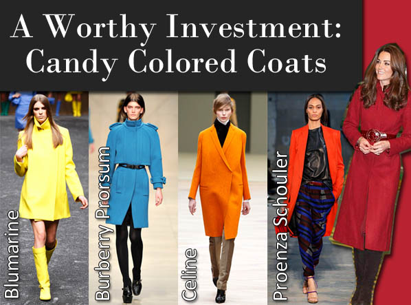 A Worthy Investment: Candy Colored Coats post image