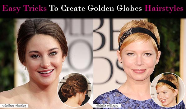 Easy Tricks To Create Golden Globes Hairstyles post image