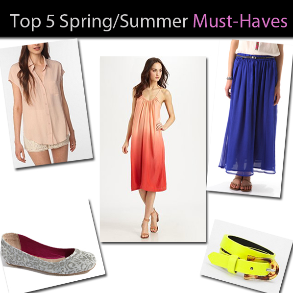 Top 5 Spring/Summer Must-Haves post image