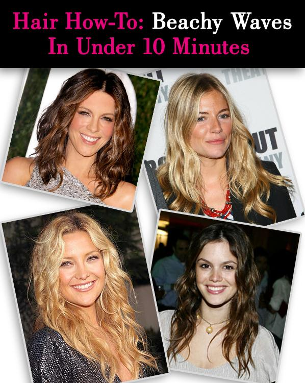 Hair How-To: Beachy Waves in Under 10 Minutes post image