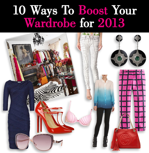 10 Ways To Boost Your Wardrobe for 2013 post image