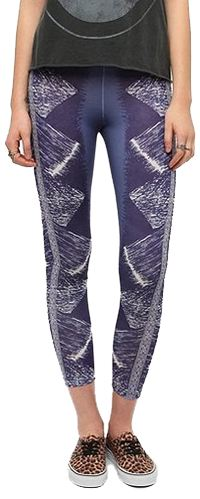 BDG Brushstroke-Patch High-Rise Legging