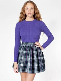American Apparel plaid skirt