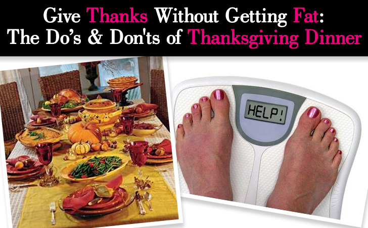 Give Thanks Without Getting Fat: The Do's & Don'ts of Thanksgiving Dinner post image