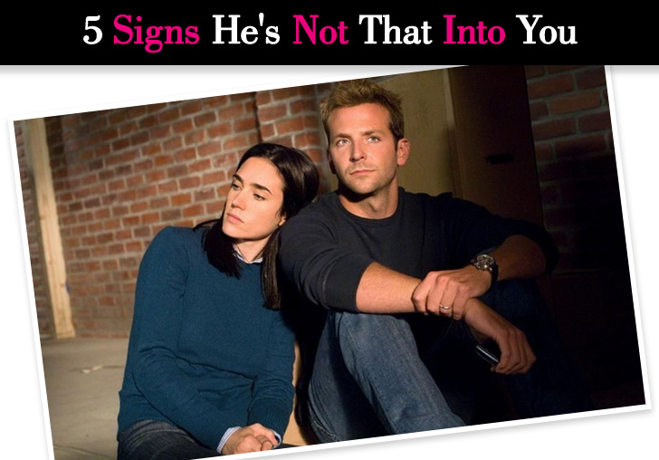 Dating signs hes not into you