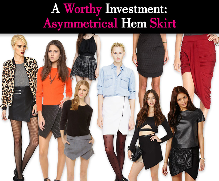 A Worthy Investment: Asymmetrical Hem Skirt post image