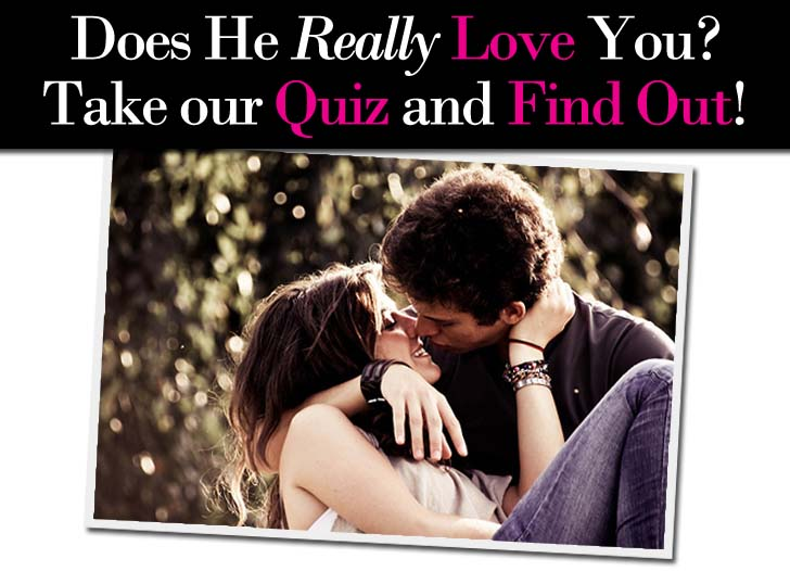 quiz to know if he loves you