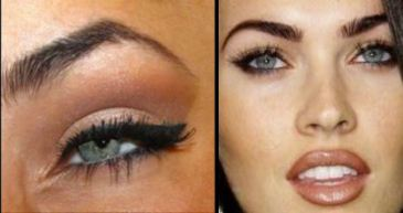 megan fox smoky eye