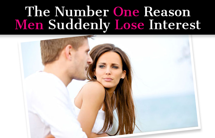 When a man loses interest what to do
