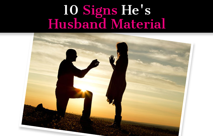 10 Signs He's Husband Material post image