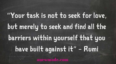 task seek for love quote