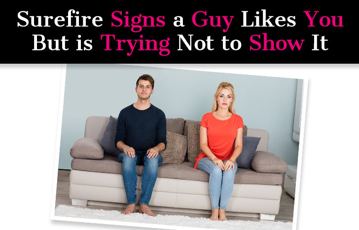 Surefire Signs a Guy Likes You But Is Trying Not To Show It post image
