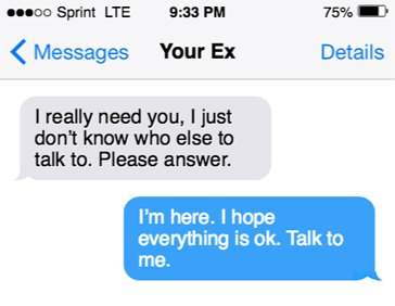 How to Respond When Your Ex Texts You: The Perfect Response