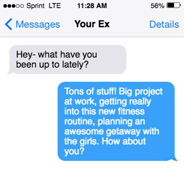 How to Respond When Your Ex Texts You: The Perfect Response For