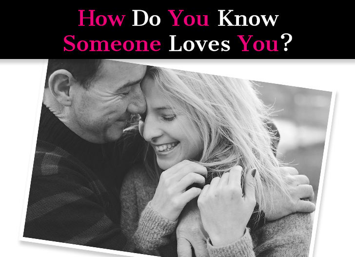How do know someone love you