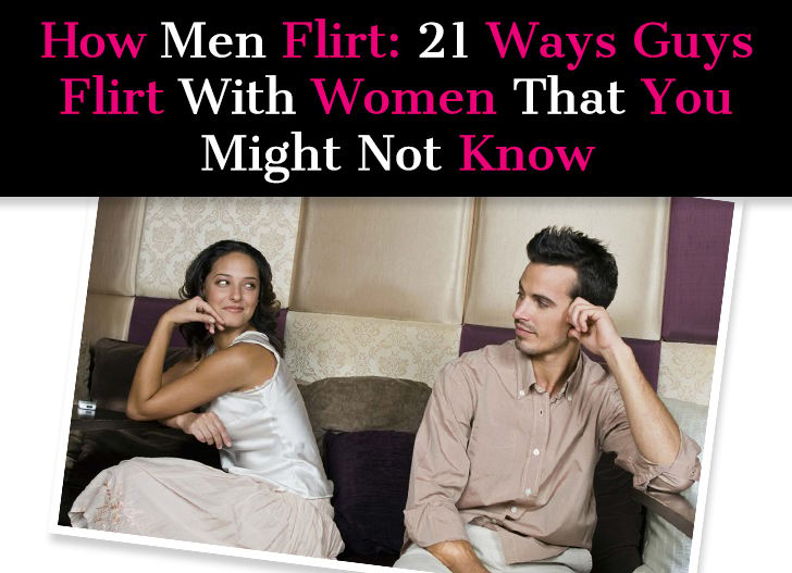 how to know when a guy is flirting